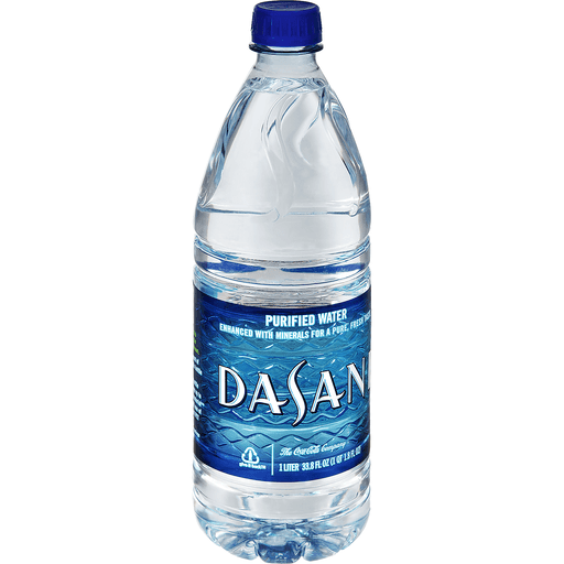 Dasani Water, Purified