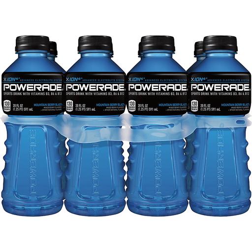 POWERADE Mountain Berry Blast Bottles