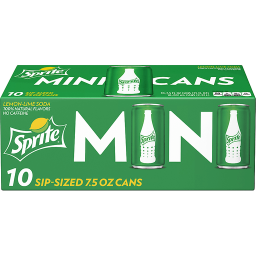 Sprite Lemon-Lime Soda Mini Cans - 10 PK