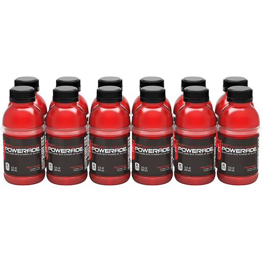 Powerade X Ion4 Sports Drink, Fruit Punch Flavored