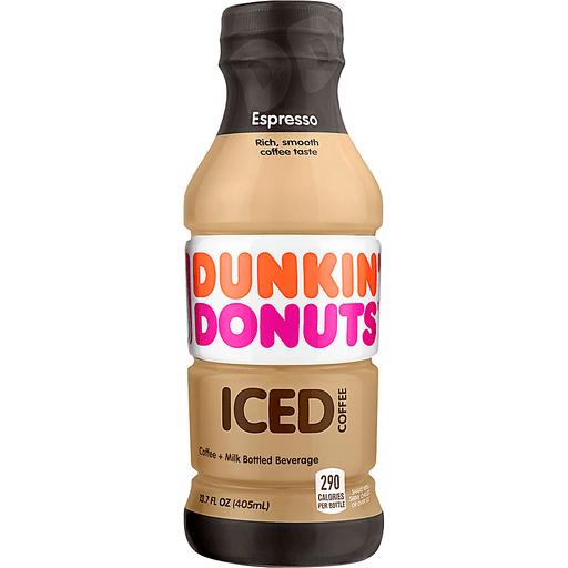 Dunkin Donuts Iced Coffee, Espresso