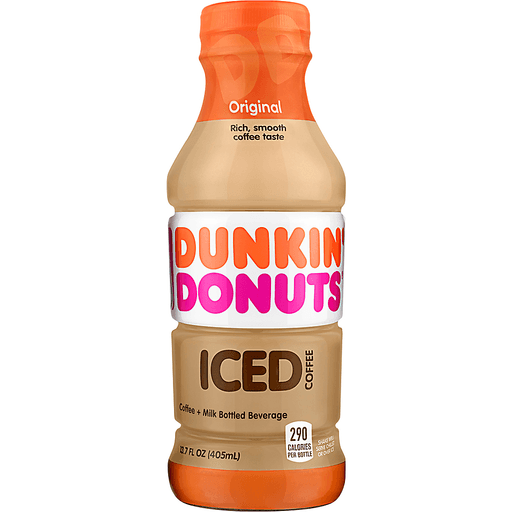 Dunkin Donuts Iced Coffee, Original