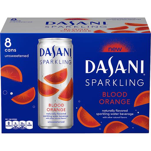 Dasani Sparkling Blood Orange - 8 CT