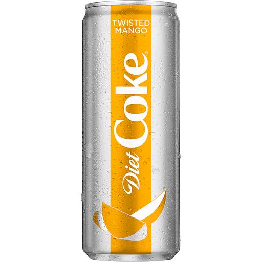 Diet Coke® Twisted Mango Cola 12 fl. oz. Can