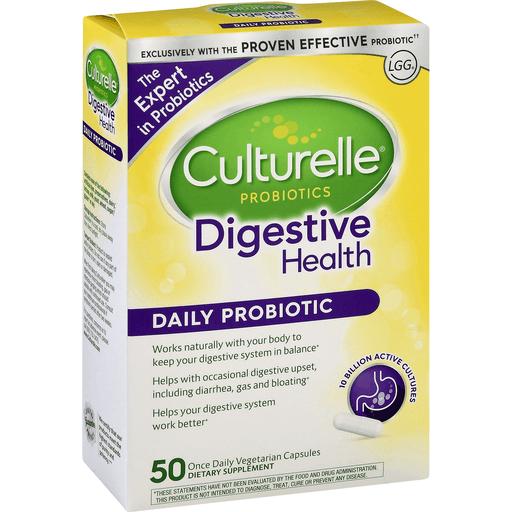Culturelle Daily Probiotic Digestive Health Vegetarian Capsules Shop Price Cutter