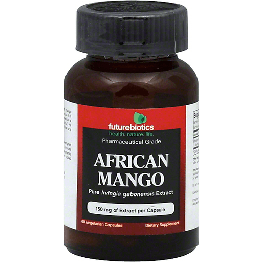 Futurebiotics African Mango 150 Mg 60 Vegetarian Capsules