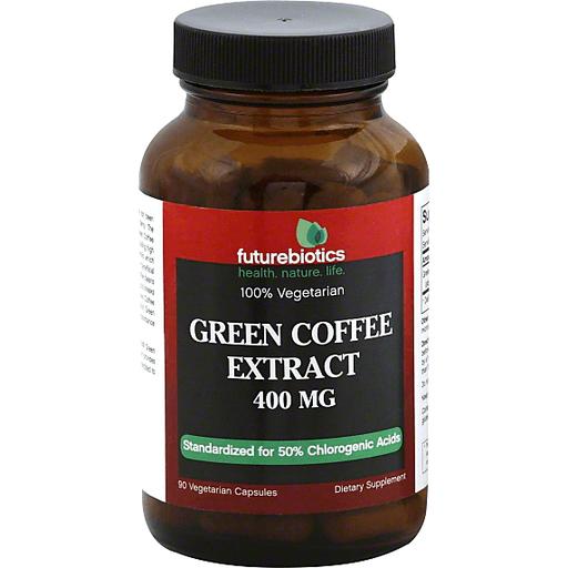 Futurebiotics Green Coffee Extract 400 Mg Vegetarian Capsules