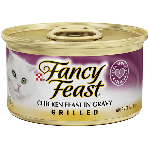 Fancy Feast Cat Food, Gourmet, Grilled, Chicken Feast in Gravy