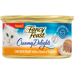 Pet Supplies New Fancy Feast White Label Chicken Casserole Dishes, Feeders & Fountains 85gm Delicious In Taste