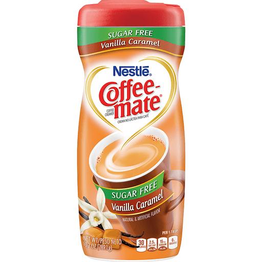 Coffee Mate Coffee Creamer, Sugar Free, Vanilla Caramel