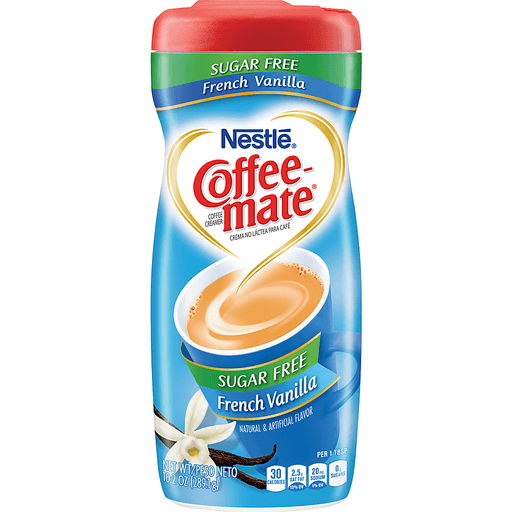 Coffee Mate Coffee Creamer, Sugar Free, French Vanilla
