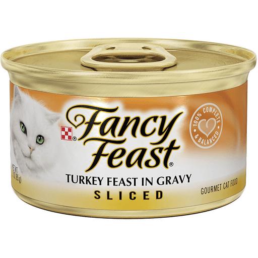 Fancy Feast Gourmet Cat Food Turkey Feast In Gravy Sliced