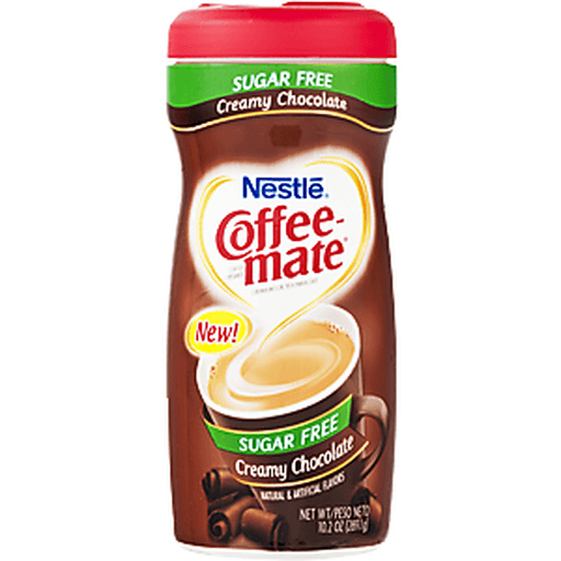 Nestle Coffee-Mate Coffee Creamer, Sugar Free, Creamy Chocolate