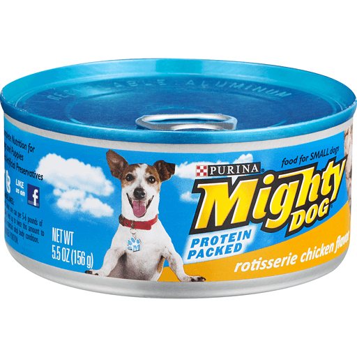 00050000572090 Purina Mighty Dog Rotisserie Chicken Flavor Dog