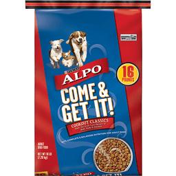 Purina ALPO Come & Get It! Cookout Classics Adult Dry Dog Food - 16 lb. Bag