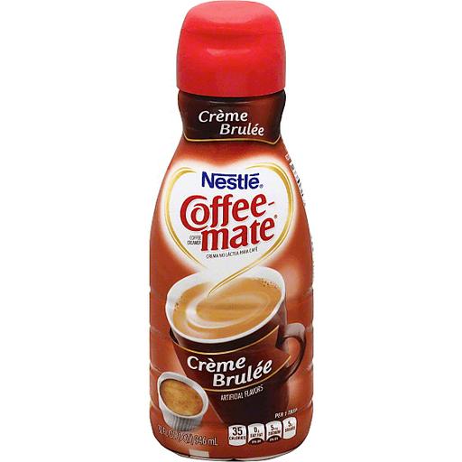 Coffee Mate Coffee Creamer, Creme Brulee - Creamers..