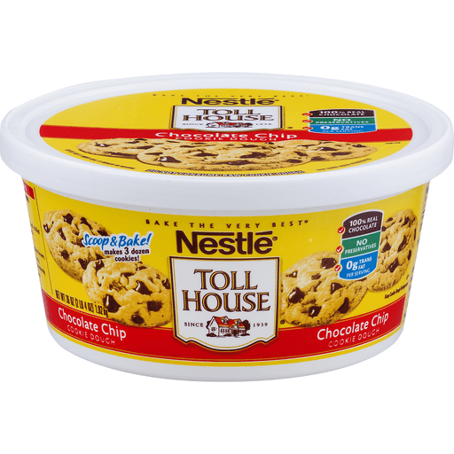 Toll House Cookie Dough, Chocolate Chip