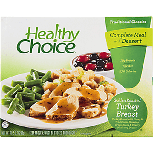 Healthy Choice Complete Meals Golden Roasted Turkey Breast