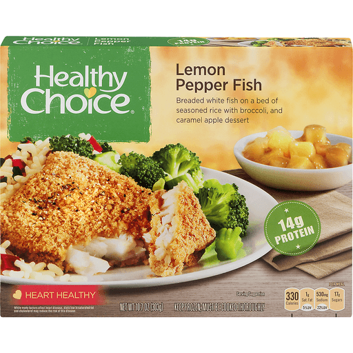 Healthy Choice Complete Meals Lemon Pepper Fish