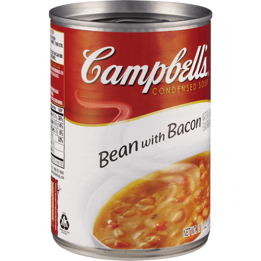 Campbells Soup, Condensed, Bean with Bacon