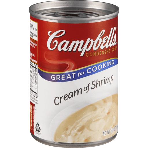 Campbells Condensed Soup, Cream of Shrimp