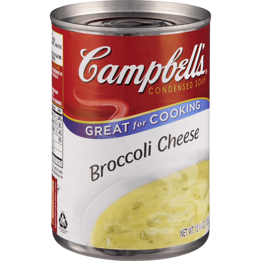 Campbells Soup, Condensed, Broccoli Cheese