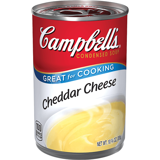 Campbells Soup, Condensed, Cheddar Cheese