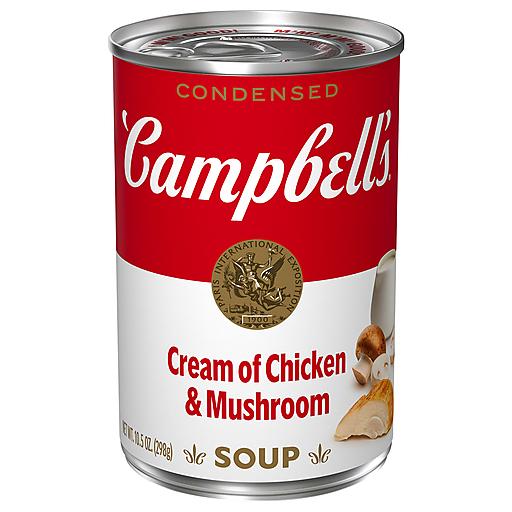 Campbells Creamy Chicken Mushroom Soup