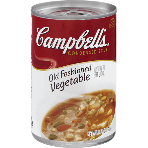 Campbell's® Condensed Old Fashioned Vegetable Soup, 10.5 oz.