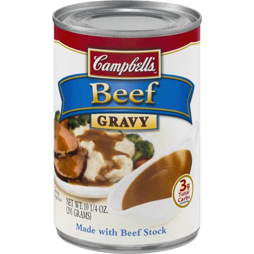Campbells Gravy, Beef