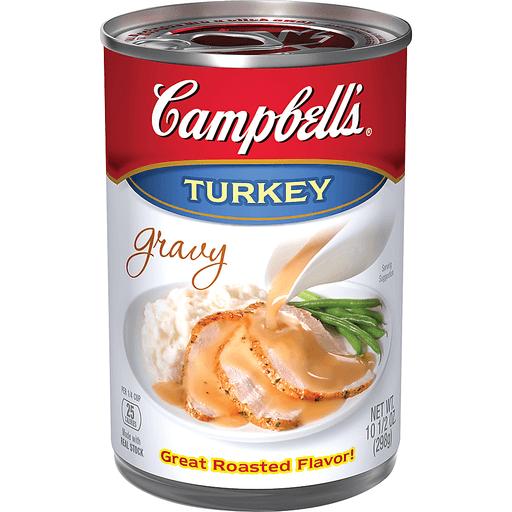 Campbells Gravy, Turkey