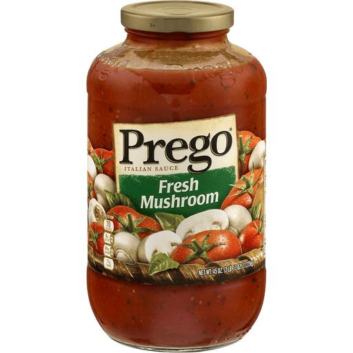 Prego® Fresh Mushroom Italian Sauce, 45 oz.
