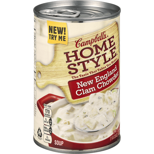 Campbell's® Homestyle New England Clam Chowder, 18.8 oz.