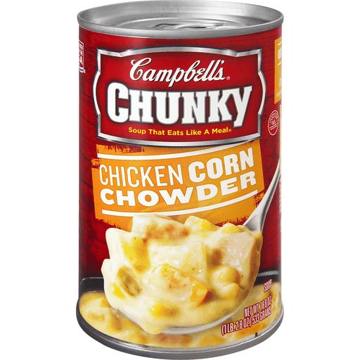Campbells Chunky Soup, Chicken Corn Chowder