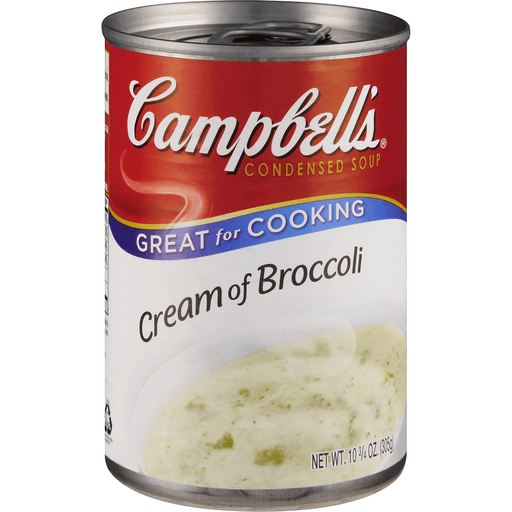 Campbells Soup, Condensed, Cream of Broccoli
