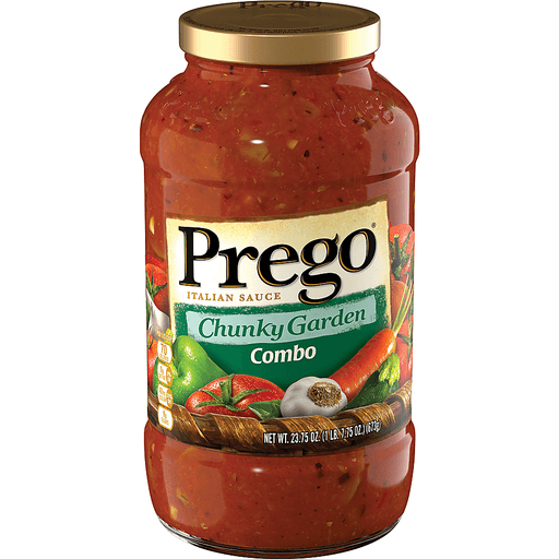 Prego Italian Sauce, Combo, Chunky Garden