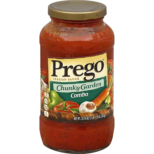 Prego Italian Sauce, Combo, Chunky