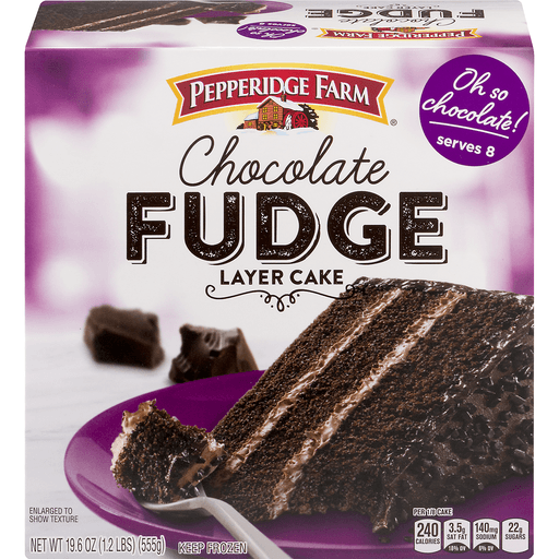 Pepperidge Farm Cake, 3-Layer, Chocolate Fudge