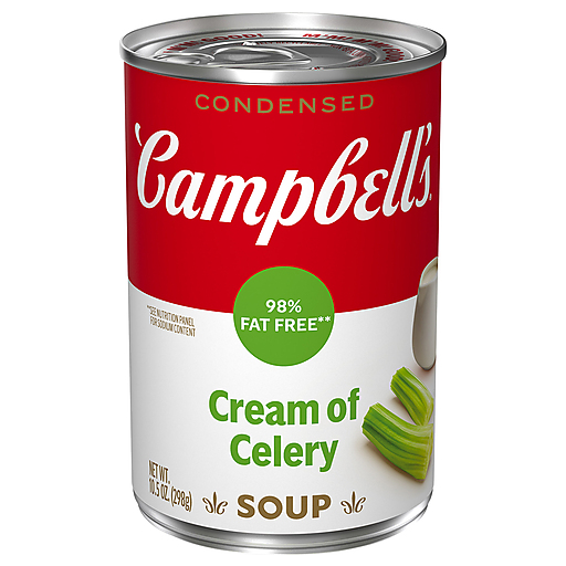 Campbells Red Fat Cream Of Celery Soup
