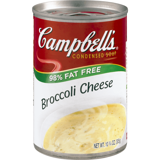Campbell's® Condensed 98% Fat Free Broccoli Cheese Soup, 10.5 oz.
