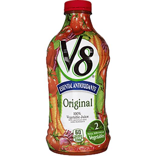 V8 100% Vegetable Juice, Original, Essential Antioxidants