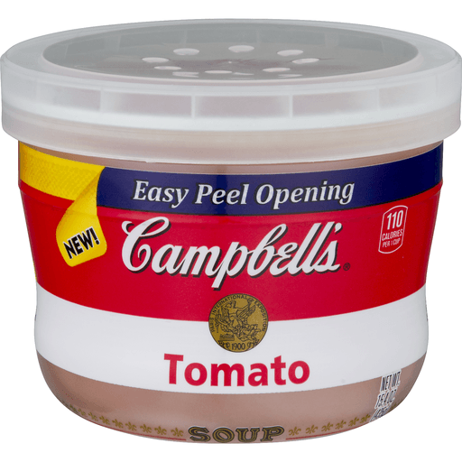 Campbell's® Tomato Soup Microwavable Bowl, 15.4 oz.
