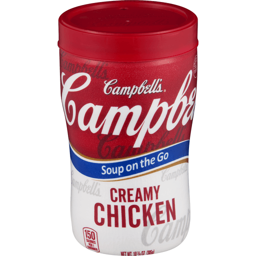 Campbell's® Soup on the Go Creamy Chicken Soup, 10.9 oz.