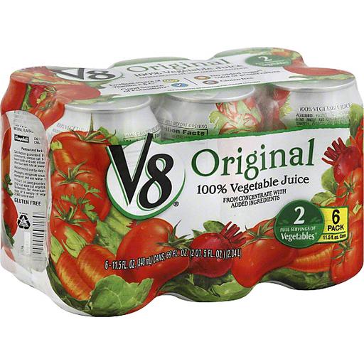 V8 100% Juice, Vegetable, Original