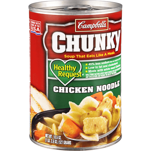 Campbells Chunky Healthy Request Soup, Chicken Noodle