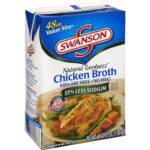 Swanson Natural Goodness Broth, Chicken