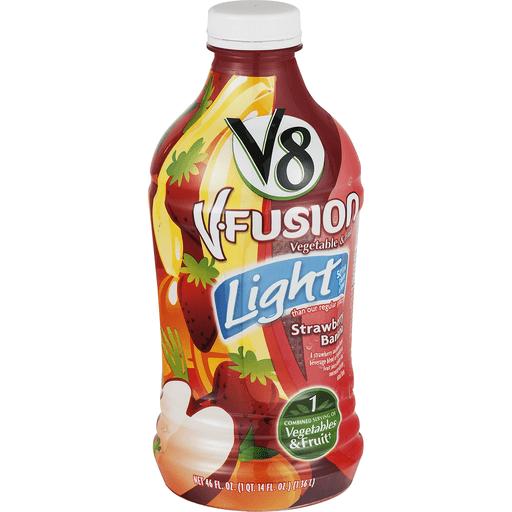 V8® Light Strawberry Banana, 46 oz.