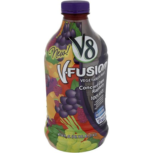 V8® Concord Grape Raspberry, 46 oz.