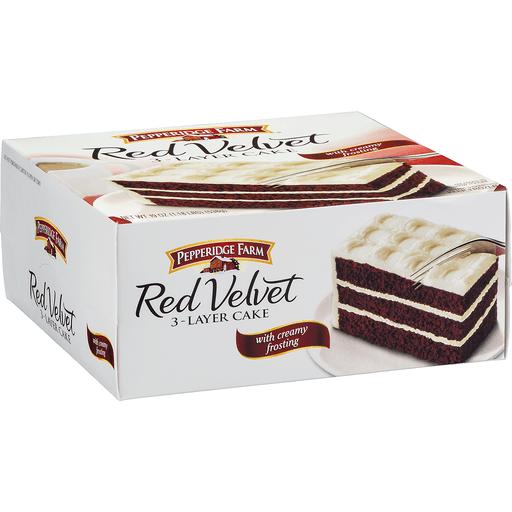 Pepperidge Farm Cake, 3-Layer, Red Velvet