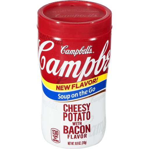 Campbells Soup on the Go Soup, Cheesy Potato with Bacon Flavor